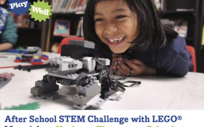Sign Up for Afterschool Lego Classes from Play-well TEKnologies Starting January 2019