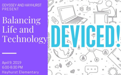 Balancing Life & Technology Speaker Presentation at Hayhurst on April 9th, 6-8:30