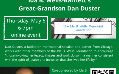 Details and Event Sign Up Link for Ida B. Wells-Barnett SW Community Reads Event on May 6th