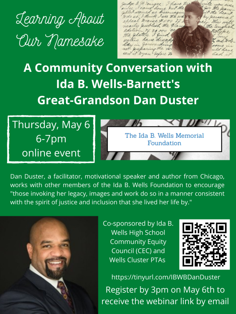 Event Flyer Ida B Wells SW Community Reads Event