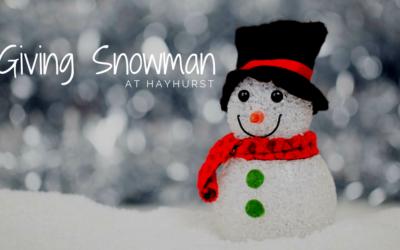 Giving Snowman 2018