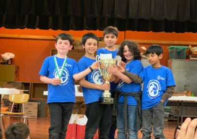 Hayhurst Chess Club wins K5 Division at the 2019 OSCF K12 Team Championship