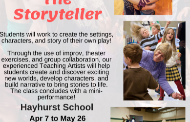 After School Program at Hayhurst: NWCT's The Storyteller (Spring)
