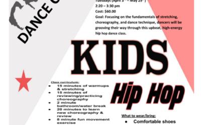 Hayhurst After-School Class: Hip-Hop Class (Spring)