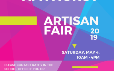 Hayhurst Artisan Fair – Saturday, May 4th, 2019