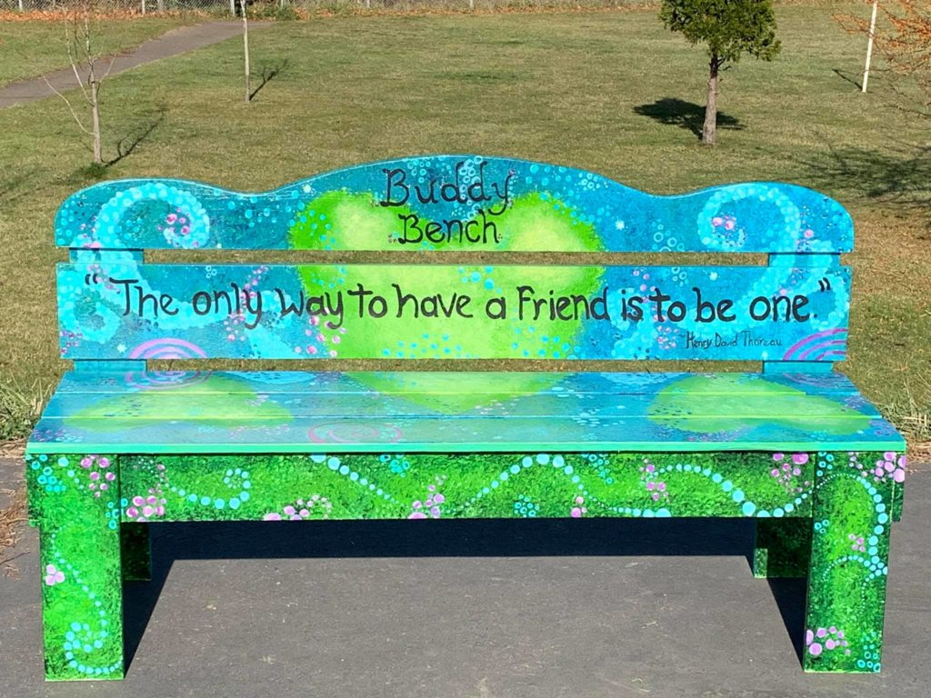 Hayhurst Buddy bench