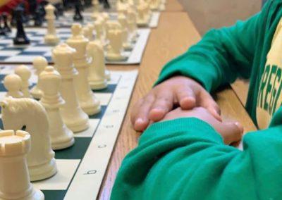 Hayhurst Chess Tournament Board