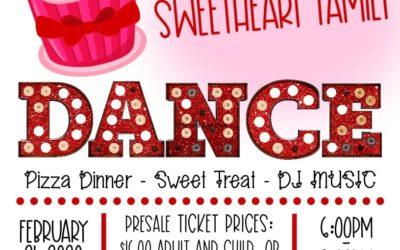 Hayhurst Sweetheart Family Dance Is February 21st