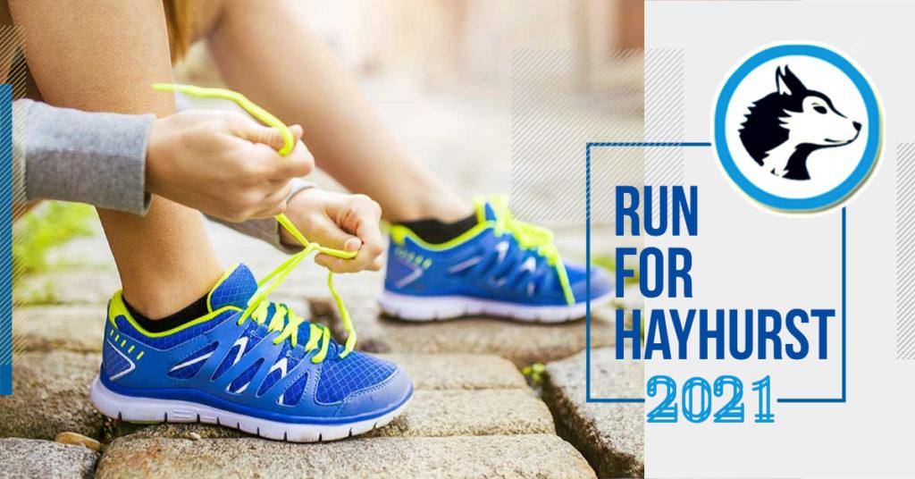 Run for Hayhurst Banner (decorative)