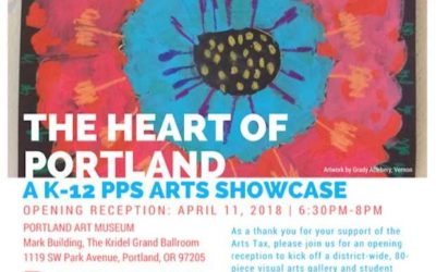 Hayhurst Honored at the Annual the Heart of Portland Arts Showcase – April 11